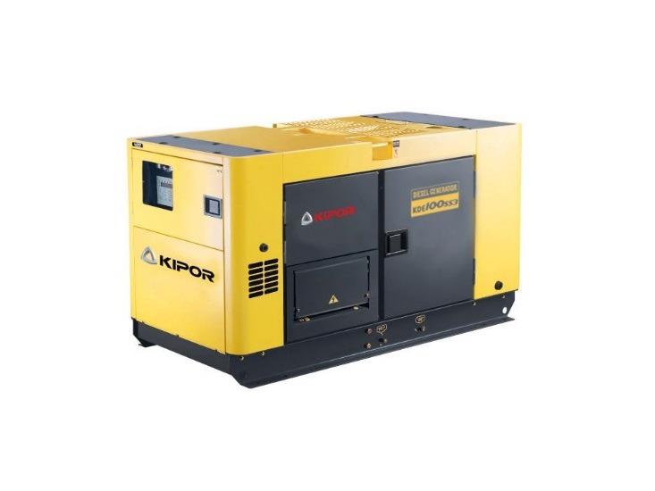 ipor KDE100SS3 100 kVA Diesel Aggregaat Generator Groupe Electrogene Stromerzeuger