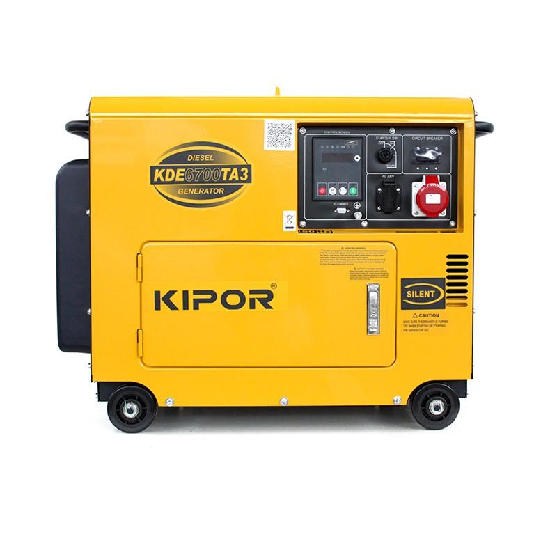 kipor kde6700ta3 diesel stromerzeuger 5 5 kva 400v kipor power products. Black Bedroom Furniture Sets. Home Design Ideas